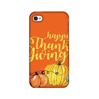 iPhone 4,iPhone 4S Thanksgiving Designer Case Pumpkin Pattern for iPhone 4,iPhone 4S