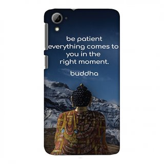 HTC Desire 826 Designer Case Buddha Quotes 6 for HTC Desire 826