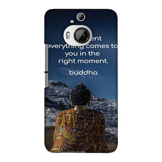 HTC One M9 PLUS Designer Case Buddha Quotes 6 for HTC One M9 PLUS