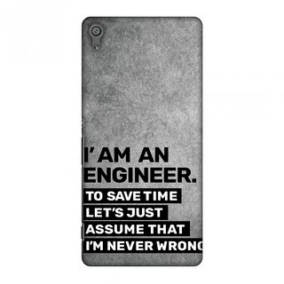 Sony Xperia XA Ultra Designer Case Proud To Be A Engineer 3 for Sony Xperia XA Ultra