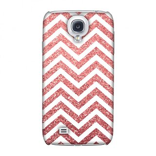 Samsung GALAXY S4 GT-I9500 Designer Case All that Glitters Chevron 1 for Samsung GALAXY S4 GT-I9500