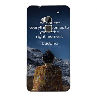 HTC One Max Designer Case Buddha Quotes 6 for HTC One Max
