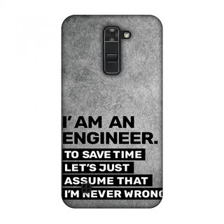 LG K7 Designer Case Proud To Be A Engineer 3 for LG K7