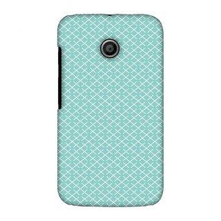 Motorola Moto E XT1022 Designer Case Checkered In Pastel for Motorola Moto E XT1022