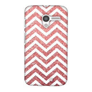 Motorola Moto X XT1055 Designer Case All that Glitters Chevron 1 for Motorola Moto X XT1055