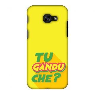 Samsung Galaxy A3 2017 Designer Case Tu Gandu Che? for Samsung Galaxy A3 2017