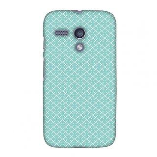 Motorola Moto G XT1032 Designer Case Checkered In Pastel for Motorola Moto G XT1032