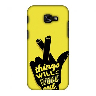Samsung Galaxy A3 2017 Designer Case Things Will Work Out for Samsung Galaxy A3 2017