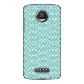 Motorola Moto Z2 Play Designer Case Checkered In Pastel for Motorola Moto Z2 Play