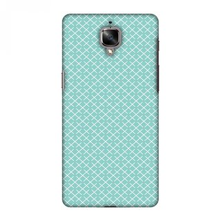 OnePlus 3,OnePlus 3T Designer Case Checkered In Pastel for OnePlus 3,OnePlus 3T