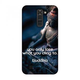 LG K7 Designer Case Buddha Quotes 3 for LG K7