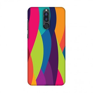 Huawei Honor 9i Designer Case Bold Waves for Huawei Honor 9i