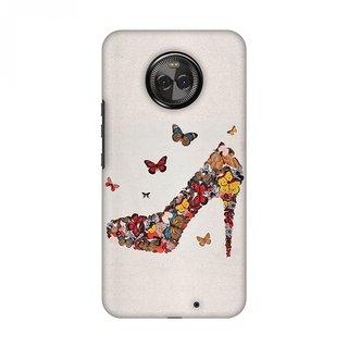 Motorola Moto X4 Designer Case Butterfly High Heels for Motorola Moto X4