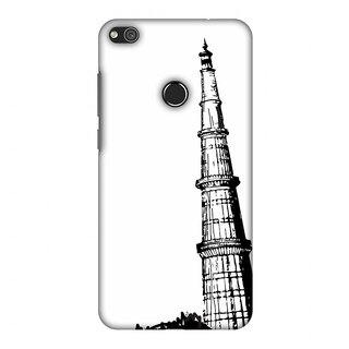 Huawei P8 Lite 2017 Designer Case Qutub Minar for Huawei P8 Lite 2017