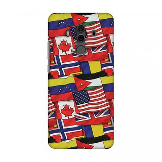 Huawei Mate 10 Pro Designer Case Flags United for Huawei Mate 10 Pro