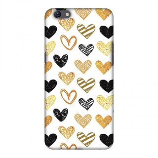 Oppo F3 Plus Designer Case I Heart Hearts for Oppo F3 Plus