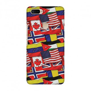 Vivo X20 Plus Designer Case Flags United for Vivo X20 Plus