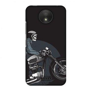 Motorola Moto C Plus Designer Case Love for Motorcycles 2 for Motorola Moto C Plus