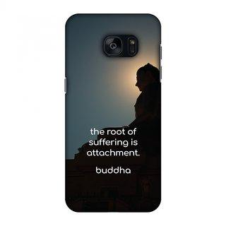 Samsung GALAXY S7 SM-G930F Designer Case Buddha Quotes 5 for Samsung GALAXY S7 SM-G930F