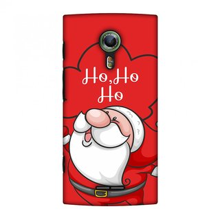 Alcatel OneTouch Flash 2 Christmas Designer Case Cute Santa for Alcatel OneTouch Flash 2