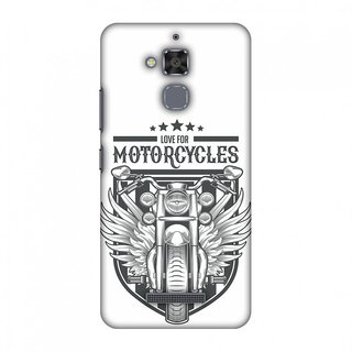 Asus ZenFone 3 Max ZC520TL Designer Case Love for Motorcycles 3 for Asus ZenFone 3 Max ZC520TL