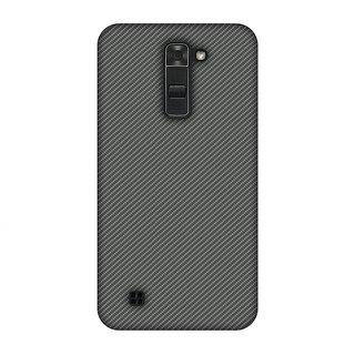 LG K7 Designer Case Neutral Grey Texture for LG K7
