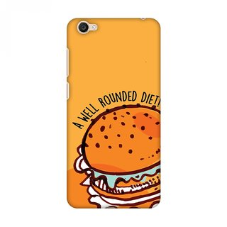 Vivo Y55 Designer Case Burger for Vivo Y55