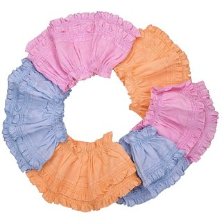 68f1895f88d1 Buy Goodstart Multicolored Cotton Frill Baby Girls Panties - Set of ...