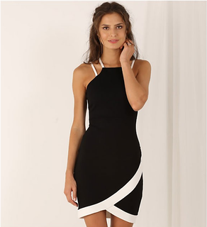Envagor Summer Fashion Dress Black