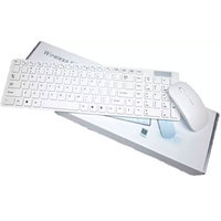 Wireless Keyboard And Mouse Combo (White)