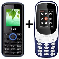 IKall K3310 Combo With K18 Basic Feature Mobile Phone