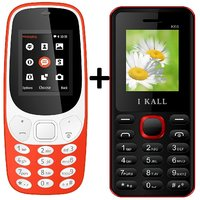 IKall K3310  Combo With K66 Basic Feature Mobile Phone