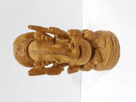 Wooden fine Ganesh