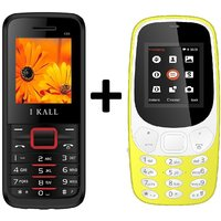 IKall K3310 Combo With K88 Basic Feature Mobile Phone
