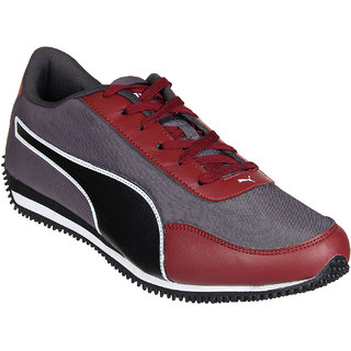 Puma Halley IDP Red/Black Mens Running Shoes