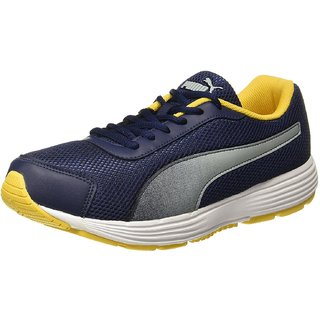 Puma Aeden Mens White Running Shoes