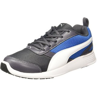 Puma Fettle Mesh Mens Black Running Shoes