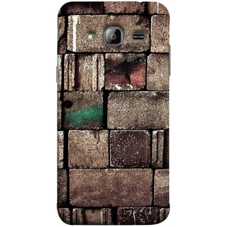 FUSON Designer Back Case Cover for Samsung Galaxy On5 Pro (2015) :: Samsung Galaxy On 5 Pro (2015) (Irregular Shapes Ancient Different Sizes Wallpaper)