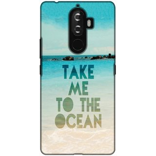 Printland Back Cover For Lenovo K8 Note