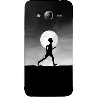 FUSON Designer Back Case Cover for Samsung Galaxy On5 Pro (2015) :: Samsung Galaxy On 5 Pro (2015) (Halloween Vector Illustration Background Full Moon )