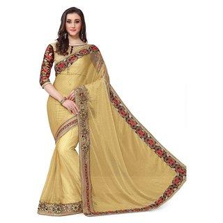 Zofey Bollywood Designer Sarees Gold Art Silk Saree