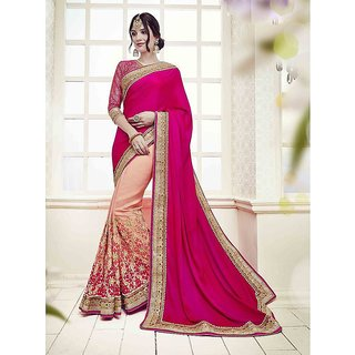 SareeShop Designer SareeS Multicoloured Silk Saree