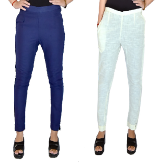 N2Creations Regular Fit Women Cotton Combo Pants