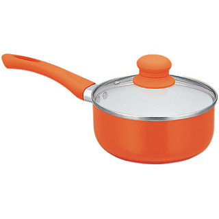 PAN WORLD Ceramic Coated Sauce Pan 16cm diameter