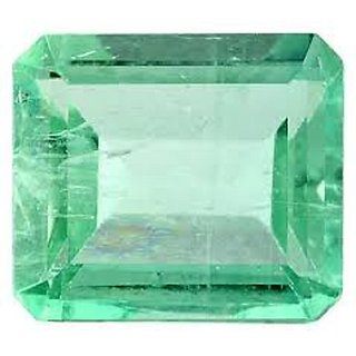 6.50 carat 100 premium quality emerald (panna) by lab certified