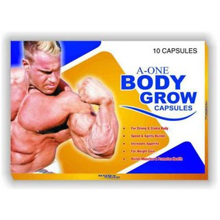 G  G's A One Body Grow Capsule, Pack of 10 x 3  30 Capsules