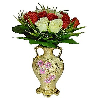 Buy Sky Trends Home Decorative Products Artificial Flower With Ceramic Pot Best Items And Office St 011 Online INR999 From ShopClues