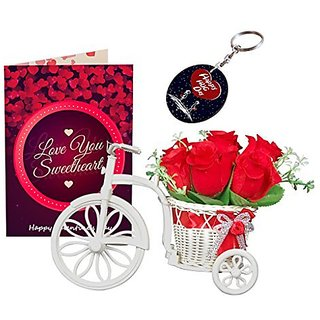 Buy Sky Trends Valentine Combo Gift For Husband Greeting Card
