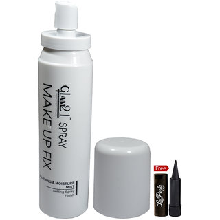 Glam21 Makeup Fix Spray MF004 With Free Laperla Kajal