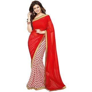 d9205b669bb Buy Zofey Bollywood Designer SareeS Multicoloured Georgette Saree ...